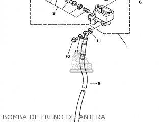 Yamaha Cy90 1991 4cx1 Spain 214cx-352s1 Bomba De Freno Delantera