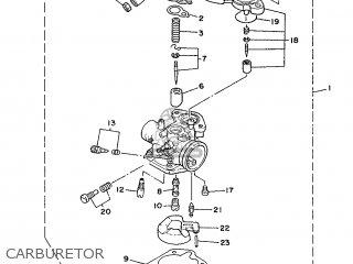 Yamaha Cy90 1991 4cx1 Spain 214cx-352s1 Carburetor