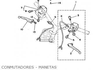 Yamaha Cy90 1991 4cx1 Spain 214cx-352s1 Conmutadores - Manetas