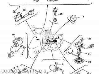 Yamaha Cy90 1991 4cx1 Spain 214cx-352s1 Equipo Electrico 2