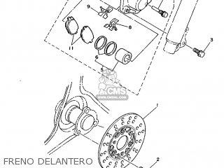 Yamaha Cy90 1991 4cx1 Spain 214cx-352s1 Freno Delantero