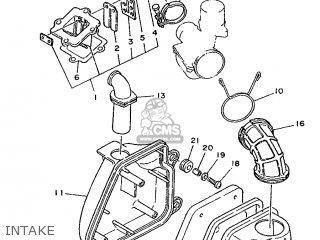 Yamaha Cy90 1991 4cx1 Spain 214cx-352s1 Intake