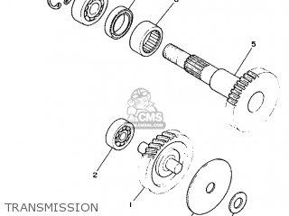 Yamaha Cy90 1991 4cx1 Spain 214cx-352s1 Transmission