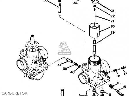 Yamaha Ds7 1972 Usa Carburetor