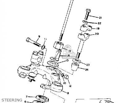 Yamaha Ds7 1972 Usa Steering