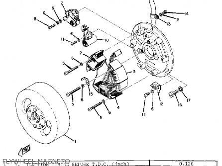 Yamaha Dt1 1968 Usa Flywheel Magneto