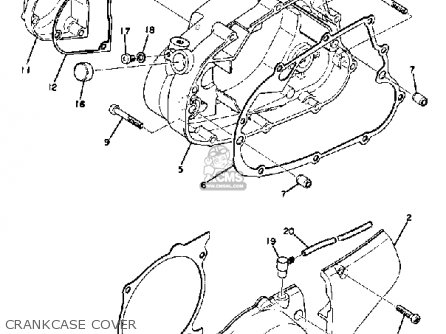 Yamaha At1 Wiring Diagram on 1972 yamaha 175 wiring diagram