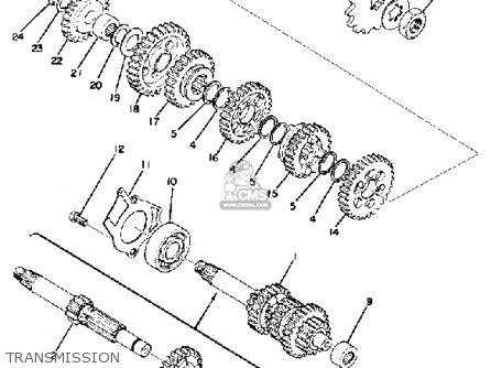 1974 Yamaha Dt 100 Wiring Diagram