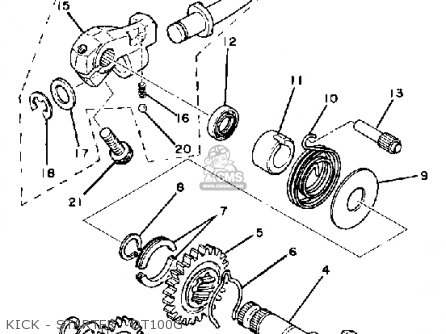 1971 Yamaha Engine Diagram