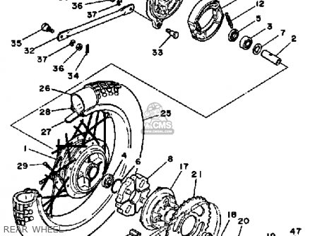 Yamaha Dt 175 Wiring Diagram on wiring diagram of yamaha mio