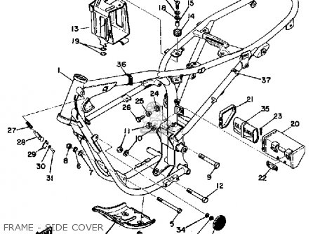 Yamaha Dt125 1974 Usa Parts Lists And Schematics