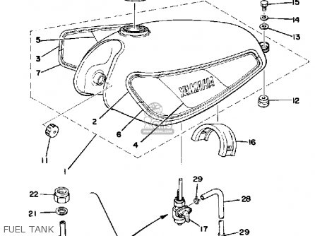 Yamaha Dt125 1978 Usa Parts Lists And Schematics
