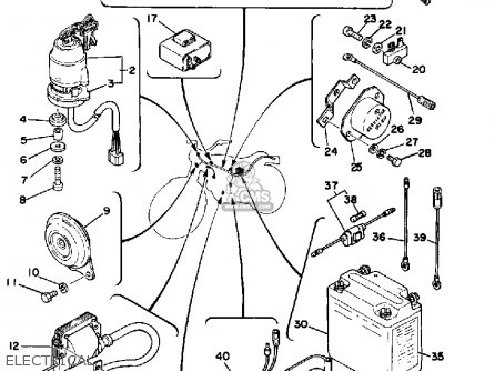 110cc Atv Carburetor Diagram furthermore Used Jet Engine together with T1840397 Wiring diagram electric start dtr 125 further Mag o Cdi Wiring Diagram in addition 125cc Chinese Atv Engine Wiring Diagram. on yamaha dt 125 cdi wiring diagram
