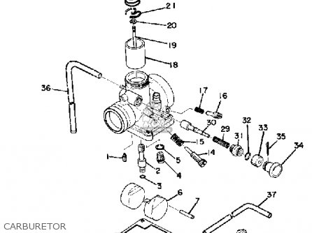 Yamaha Dt175 1974 Usa Parts Lists And Schematics