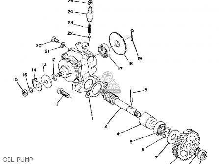 Yamaha Dt175 1975 Usa Parts Lists And Schematics
