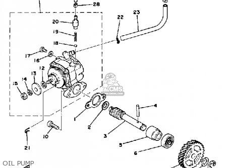 yamaha dt175 1978 usa parts list partsmanual partsfiche. Black Bedroom Furniture Sets. Home Design Ideas