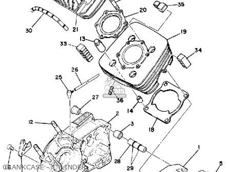 Yamaha Dt175 1979 Usa Parts Lists And Schematics