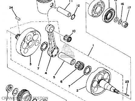 Yamaha Dt 250 Parts Diagram