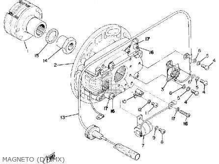 Yamaha Dt2mx 1972 Usa Magneto dt2mx
