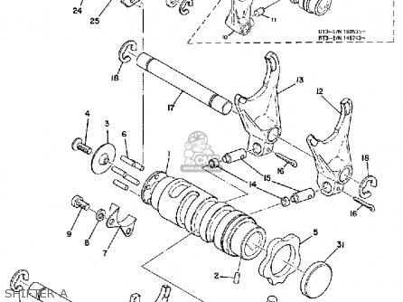 Yamaha Dt2mx 1972 Usa Shifter A