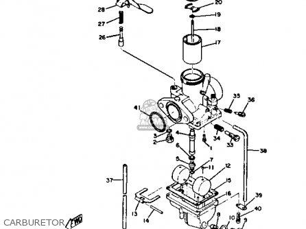 Yamaha Dt3 1972 1973 Usa Carburetor