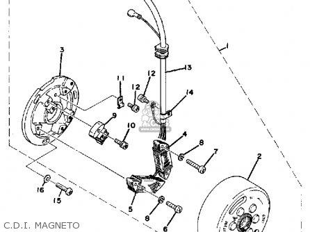 yamaha dt400 1978 usa parts list partsmanual partsfiche. Black Bedroom Furniture Sets. Home Design Ideas