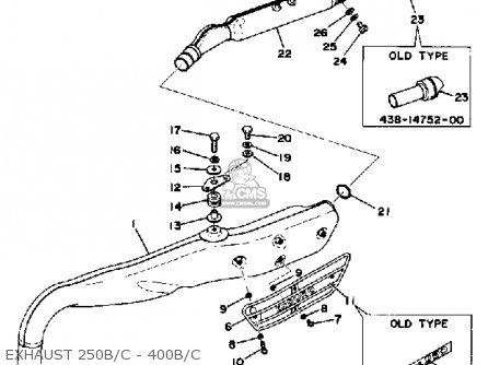 yamaha dt400b 1975 1976 parts list partsmanual partsfiche. Black Bedroom Furniture Sets. Home Design Ideas