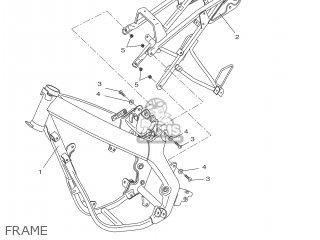 yamaha dt50r 2007 13c1 france 1f13c 300e1 parts lists and schematics Yamaha DT 50 Drawing yamaha dt50r 2007 13c1 france 1f13c 300e1 frame