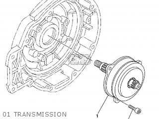 Yamaha Ec-03 2011 1cb3 Europe 1k1cb-300e1 01 Transmission