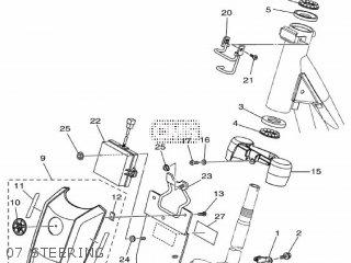 Yamaha Ec-03 2011 1cb3 Europe 1k1cb-300e1 07 Steering
