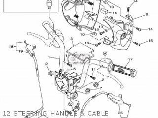 Yamaha Ec-03 2011 1cb3 Europe 1k1cb-300e1 12 Steering Handle  Cable