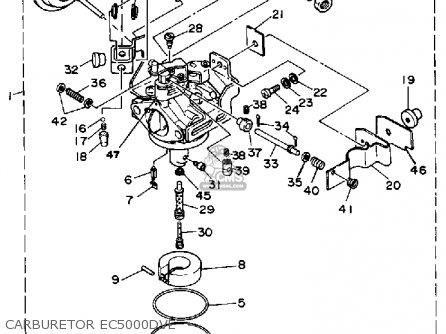 yamaha ec5000dv ec5000dve generator parts lists and schematics. Black Bedroom Furniture Sets. Home Design Ideas