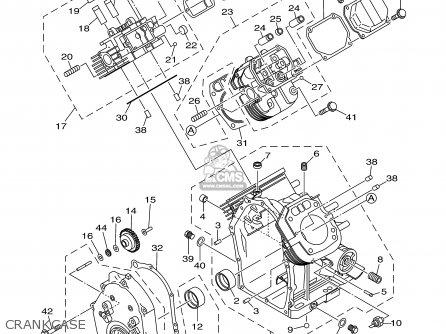 Yamaha EF12000DE 7UX2 GENERATOR 1999 parts lists and schematics on