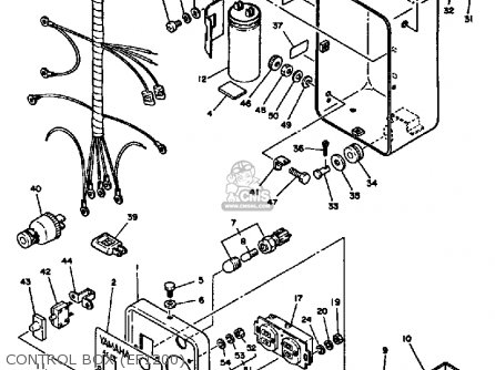 Yamaha Ef1800 2600 1200 Generator Control Box ef1200