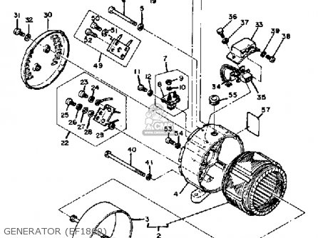 Yamaha Ef1800 2600 1200 Generator Generator ef1800