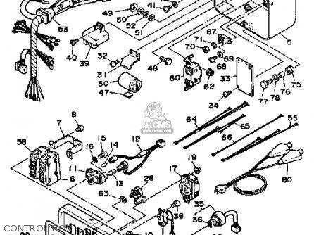 yamaha ef4000dve ef5000dve generator parts lists and schematics Yamaha Outboard Fuse control box
