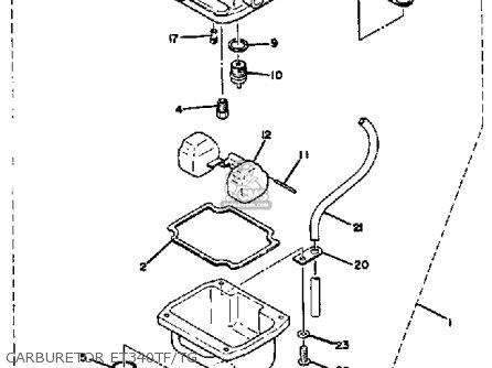 yamaha et340 tf enticer 1982 1983 parts lists and schematics. Black Bedroom Furniture Sets. Home Design Ideas