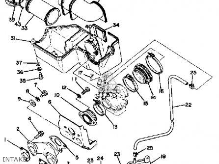 Yamaha Et340d 1980 Parts Lists And Schematics