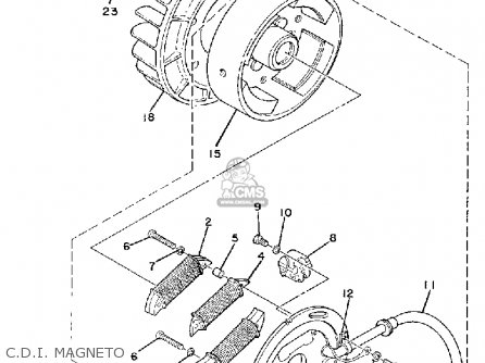 Diagram Of 1979 Et340ec Yamaha Snowmobile Rear Axle Wheel Diagram