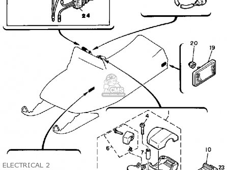 diagram for wiring a yamaha sr250