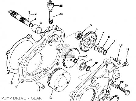 Yamaha Ew643b Snowmobile 1973 Parts Lists And Schematics