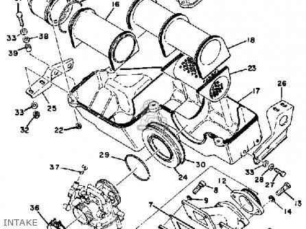 Kawasaki 440 Engine Diagram