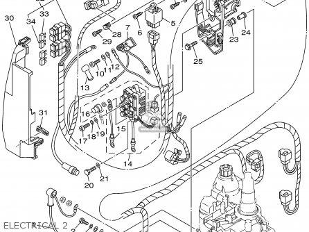 Yamaha F115tlrz txrz - Lf115txrz 2001 Electrical 2