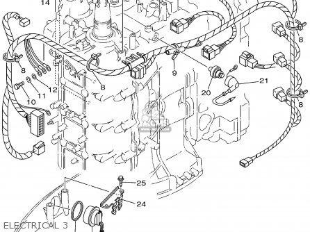 Yamaha F115tlrz txrz - Lf115txrz 2001 Electrical 3