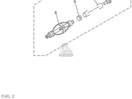 Yamaha F115tlrz txrz - Lf115txrz 2001 Fuel 2