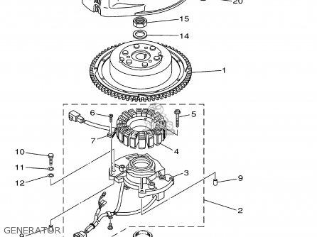 Yamaha F115tlrz txrz - Lf115txrz 2001 Generator