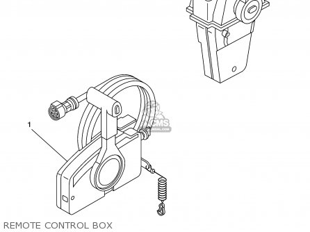 Yamaha F115tlrz txrz - Lf115txrz 2001 Remote Control Box