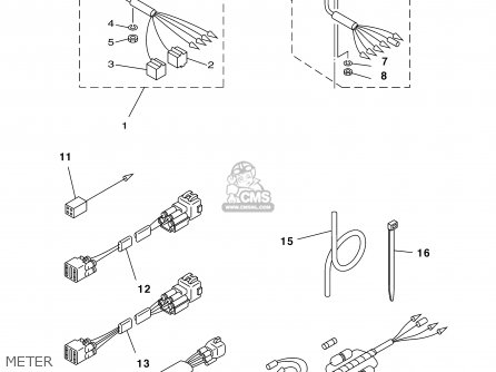 Yamaha F80/F100TLRY 2000 parts lists and schematics on