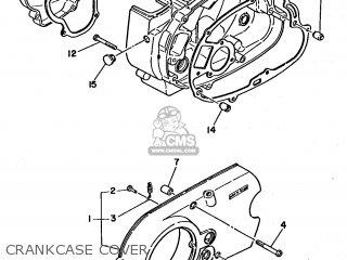 Yamaha Fs Dx A Belgium Type F Crankcase Cover Medium E C on Kensun Wiring Diagram
