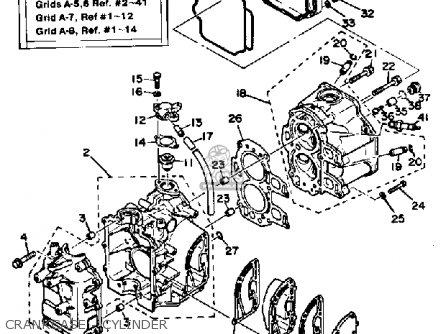 Yamaha Ft9 9xk Ft9 9elk Ft9 9exk 1985 Parts Lists And Schematics